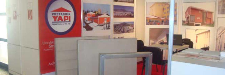 Prefabrik Yapı A.Ş. 2009 Bau Fuarı'nda