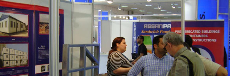 Prefabrik Yapı A.Ş. Libya Build 2009 Fuarı'nda
