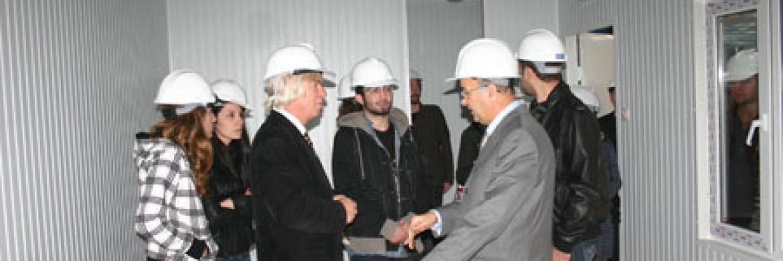 Haliç Üniversitesi Endüstri Ürünleri Tasarım Öğrencileri ile Fabrika Teknik Gezisi