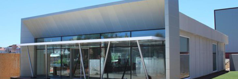 Hafif Çelik Teknolojisi ile Gerçekleştirilen Satış Ofislerine Bir Yenisi Daha Eklendi