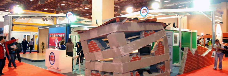 Prefabrik Yapı A.Ş. Standı Afet Yönetimi Fuarı'nda Ziyaretçilerin İlgi Odağı Oldu