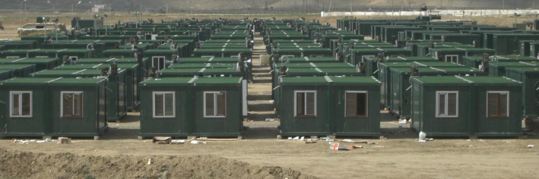 Azerbaycan'da Konteyner Kamp Projesi Tamamlandı