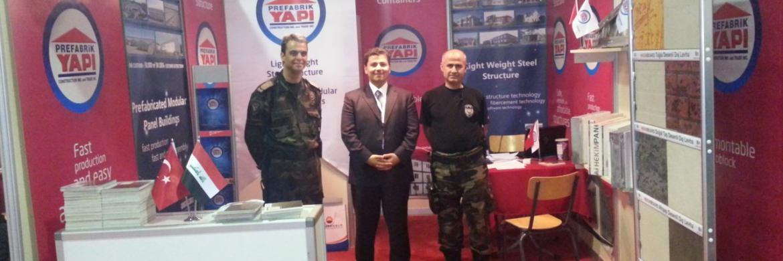 Prefabrik Yapı A.Ş. 3. Basra Petrol & Gaz Fuarı'ndaydı