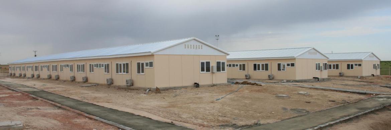 Tuz Gölü Doğalgaz Depolama Projesi Mobilizasyon Binaları