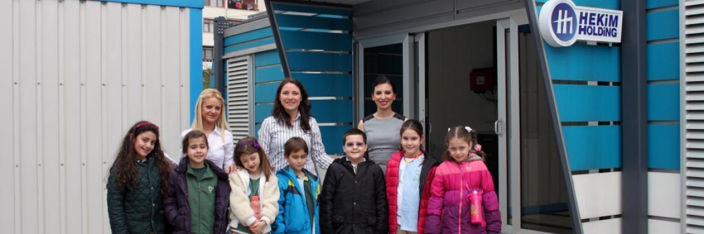 Doğa Koleji Öğrencilerinin Prefabrik Yapı A.Ş. Ziyareti