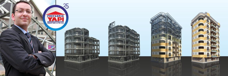 Dev Hangar Konstrüksiyonları ve 8 Katlı Hafif Çelik Yapılar