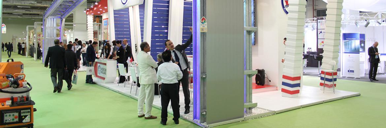 Prefabrik Yapı A.Ş. 37. Yapı Fuarı'nda Kolonsuz Dev Hangar Konstrüksiyonu ile Büyük İlgi Gördü