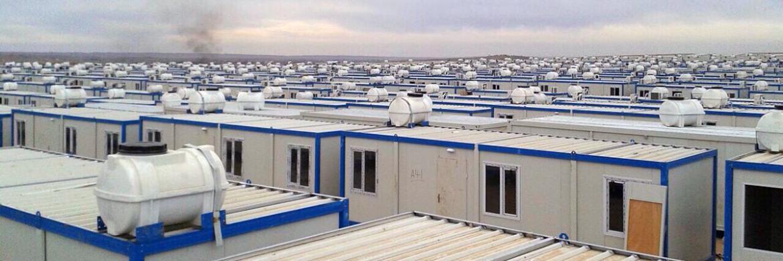 Irak'ta Acil Yaşam Konteynerleri