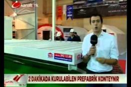 Afet Yönetim Fuarı Kanaltürk Haber