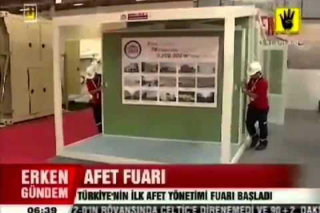 Afet Yönetim Fuarı ÜlkeTV Haber Bülteni