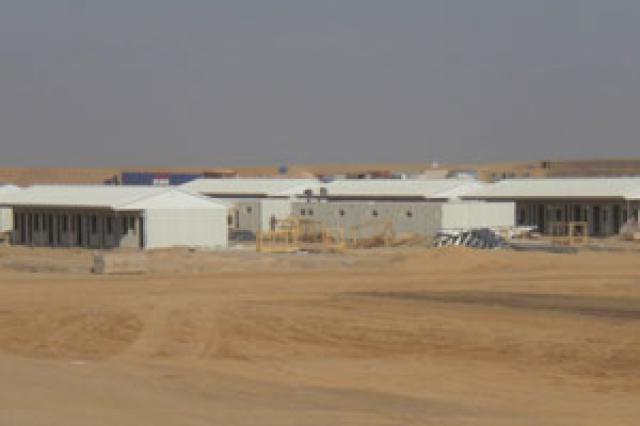 Afganistan'da 17.000 m2'lik Kamp Projesi