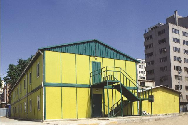 Anadolu Metro Ortaklığı Şantiye Binaları