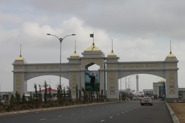 Türkmenistan Çöl Pazarı
