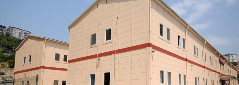 Hafif Çelik Sağlık Binaları