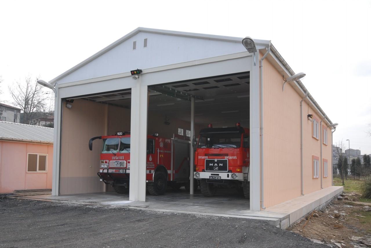 Garaj konteynerlerimizde aydınlatma sistemi mevcuttur KURUMSAL Hazır yapılar sektörünün ilk ve öncülerinden olan Karmod Prefabrik Yapı Teknolojileri İnş San ve Tic Ltd Şti 1986 yılında kurulmuştur