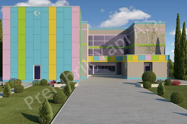 İlkokul 3036 m2