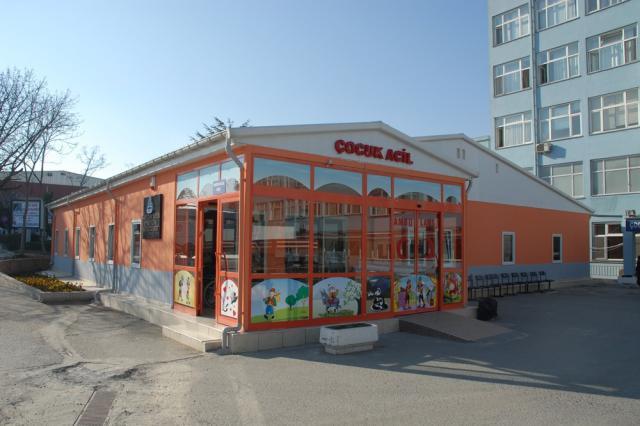 Medeniyet Üniversitesi Hastanesi Çocuk Acil ve Poliklinik Binaları