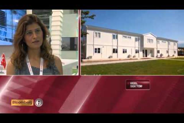 Prefabrik Yapı A.Ş. Bloomberg HT Reel Sektör Programı (Yapı Fuarı 2014)