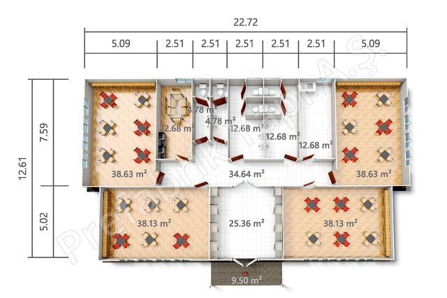 PREY 284 m2 Plan