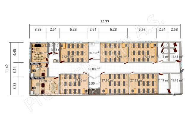 PREY 374 m2 Plan