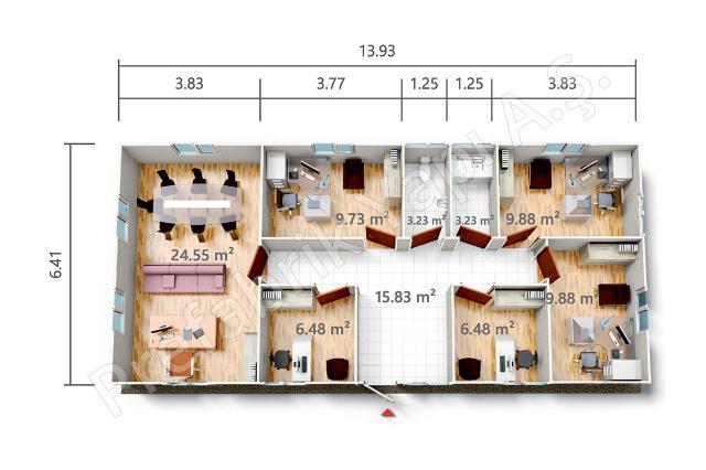 PRO 89 m2 Plan