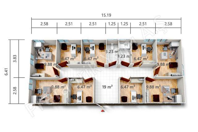 PRO 97 m2 Plan