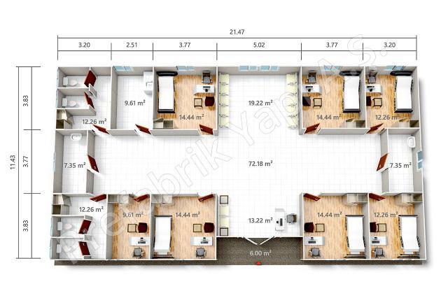 PRSY 245 m2 Plan