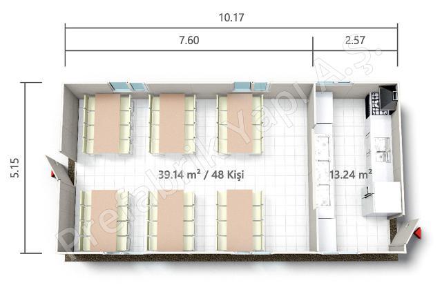 PRY 52 m2 Plan