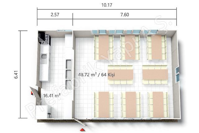 PRY 65 m2 Plan