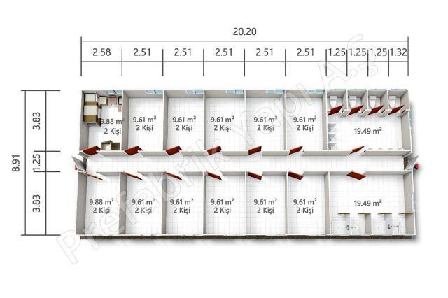 PRYT 180 m2 Plan
