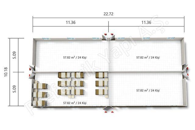 PRYT 231 m2 Plan