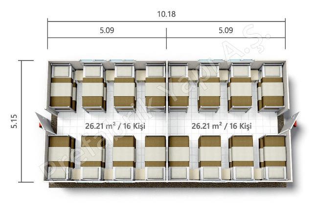 PRYT 52 m2 Plan