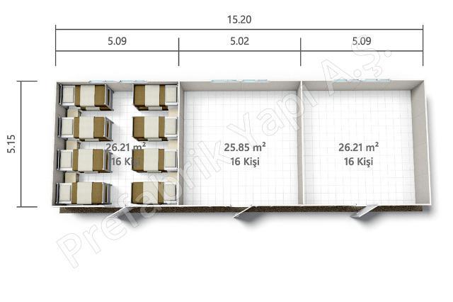 PRYT 78 m2 A Plan