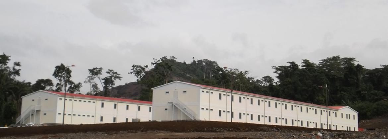 Prefabrik Sosyal Tesis Binaları