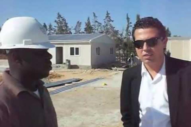 Tripoli Projesinin Şantiye Şefi Mr. Adem ile Röportaj