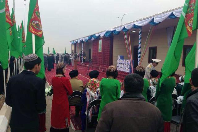 Türkmenistan Sınır Karakolları Personel Yaşam Alanı