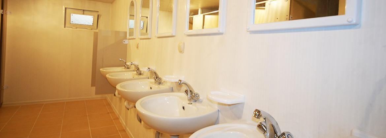 WC-Duş Konteyneri