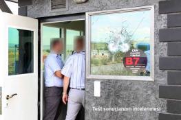 Zırhlı Güvenlik Kabini Balistik Test