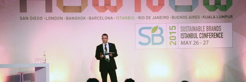 2015 Sürdürülebilir Markalar Konferansındaydık