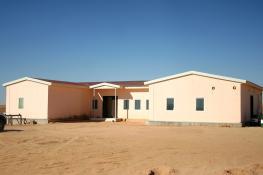 6.500 m2 Sosyal Tesis Binaları