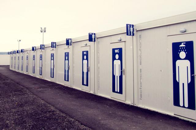 Almanya mülteci kampı 1