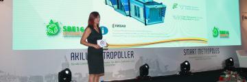 SBE16 İstanbul'da Mars Konteyneri Tanıttık