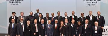 2017-2019 Döneminde de İMSAD Yönetim Kurulu'ndayız