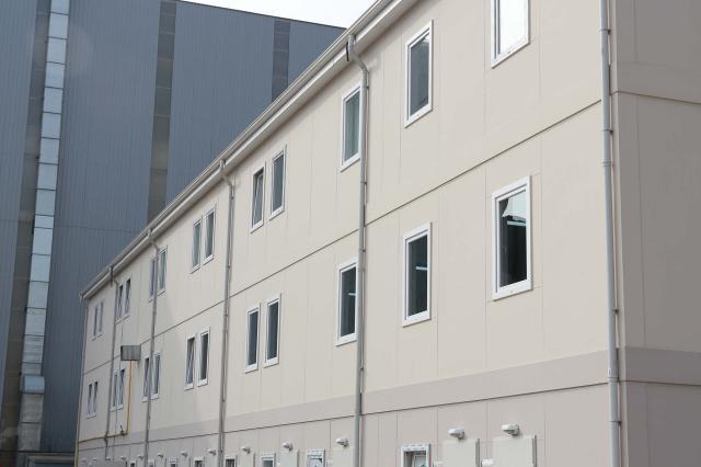 Üç Katlı Prefabrike Bina