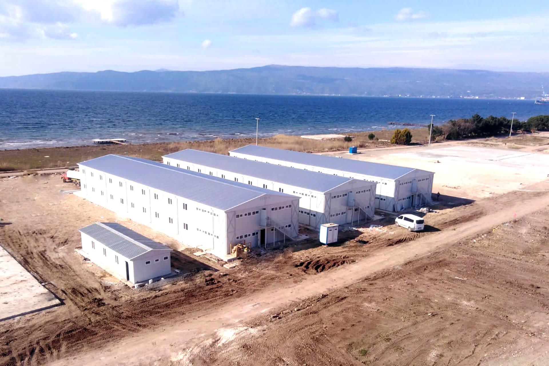 مشروع مخيمات العمال