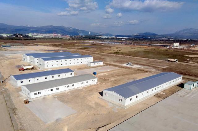 Gemlik Prefabrik İşçi Kampı